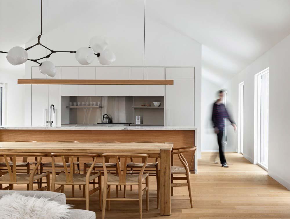 modern chalet design kitchen - Alta Chalet