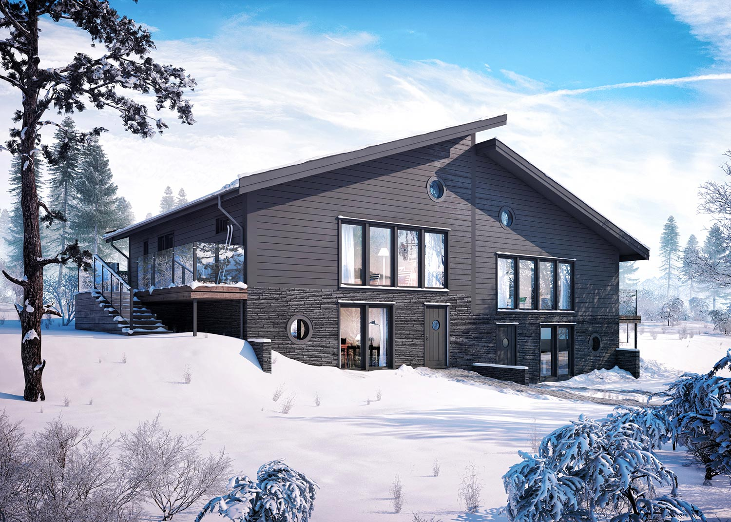 Bj 246 Rnen Chalet Ski In Ski Out Beautiful Interiors