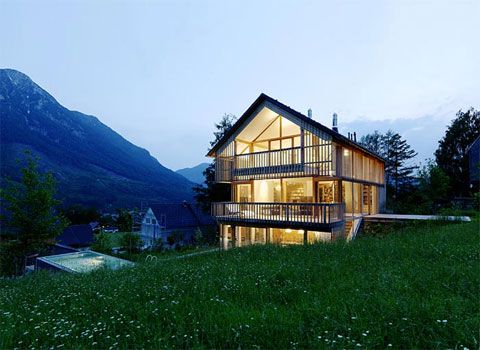 Haus m traditional modernism modern architecture - Chalet modern design ...