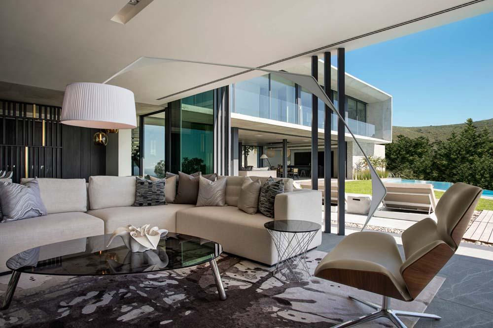 Modern City Villa Living Room Design