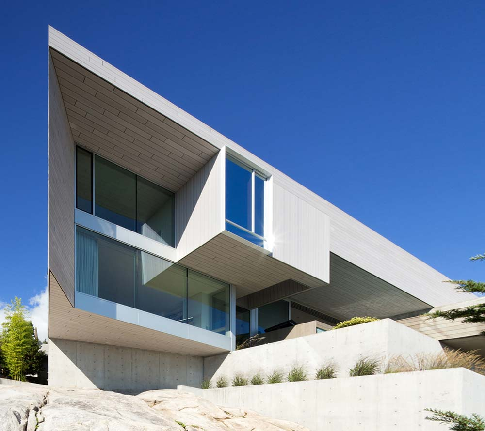 modern cliff home design mb - Sunset House