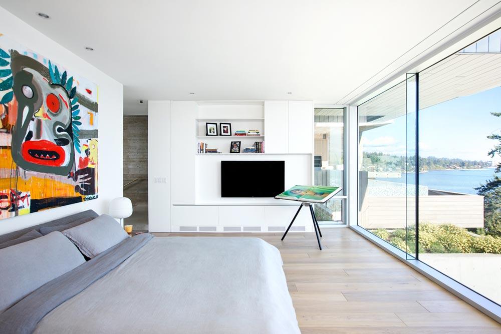 modern coastal home bedroom design mb - Sunset House