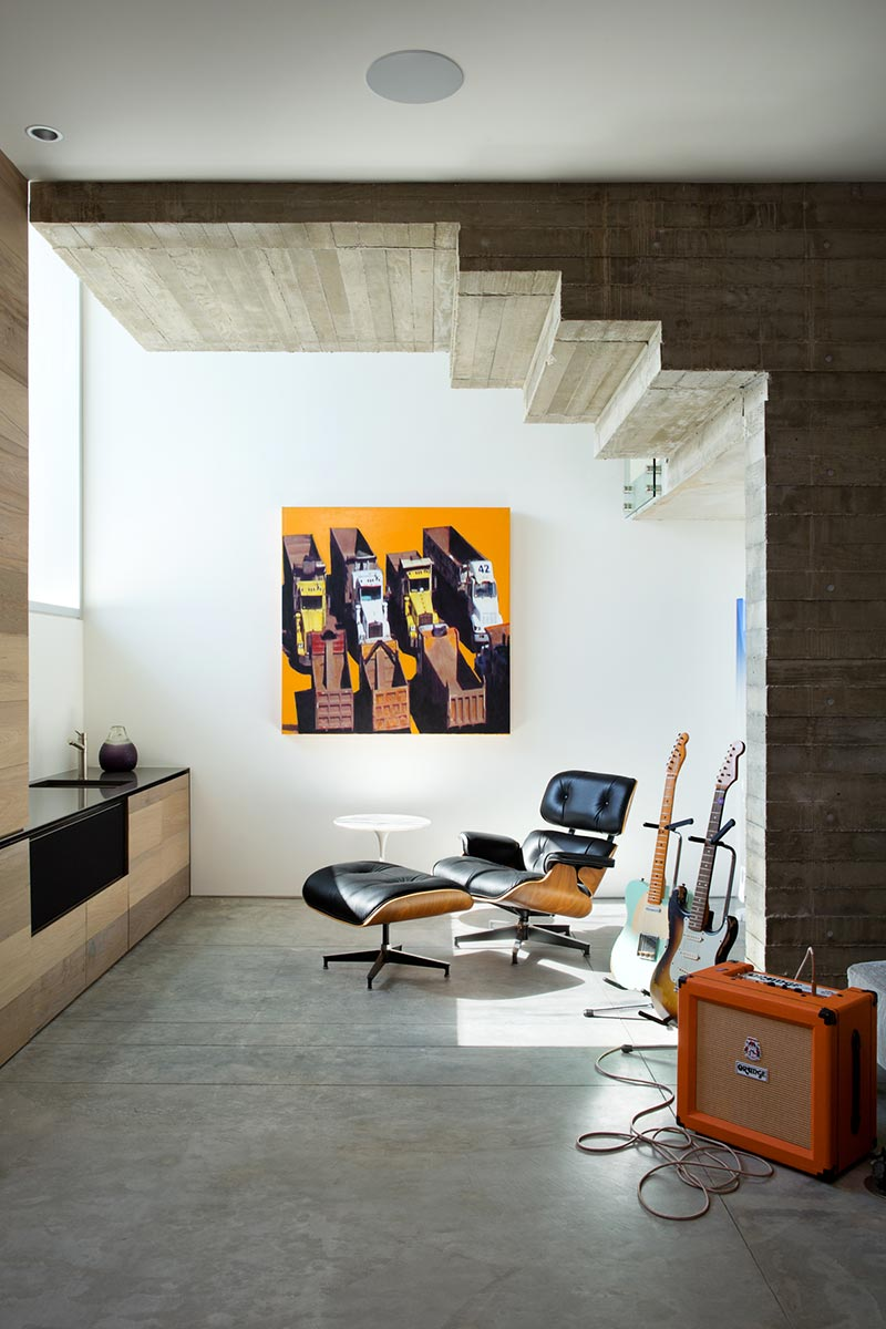 modern coastal home music room design mb - Sunset House