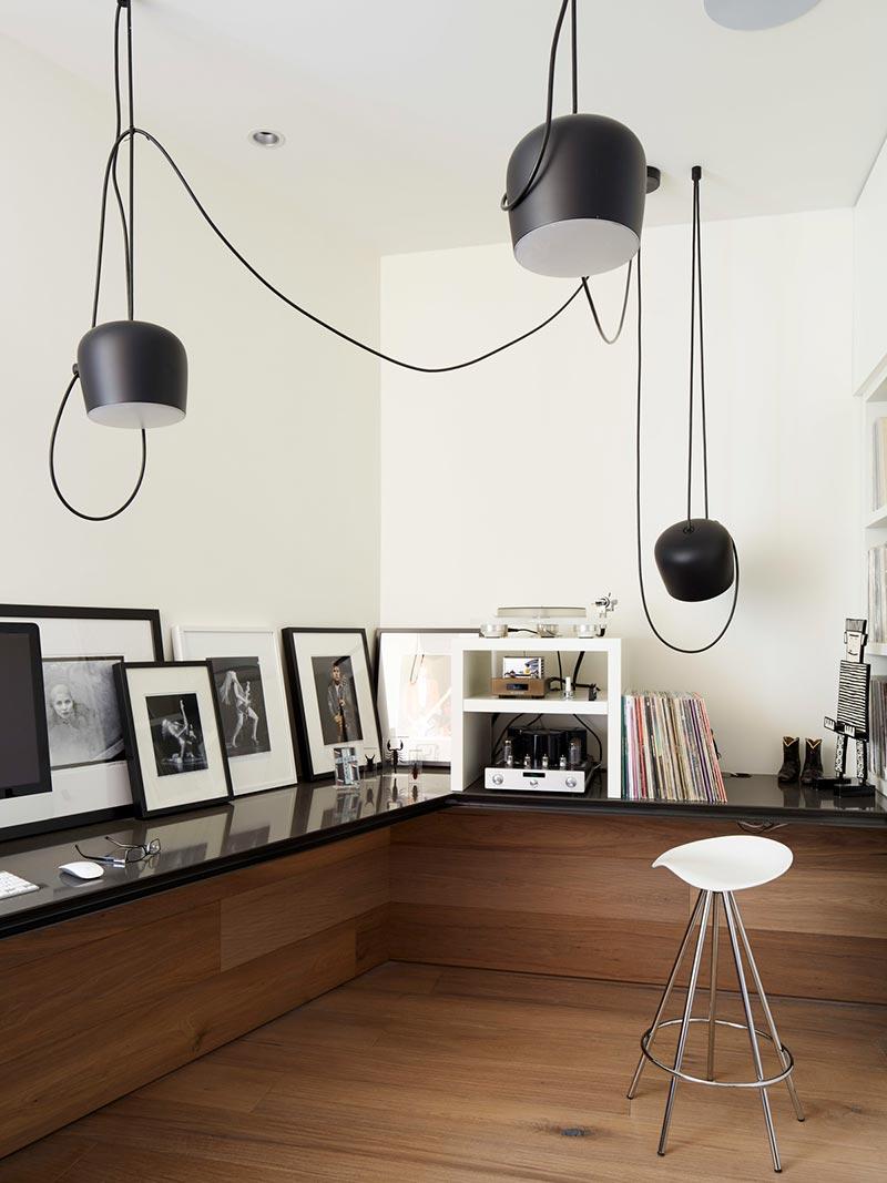 modern coastal home office design mb - Sunset House