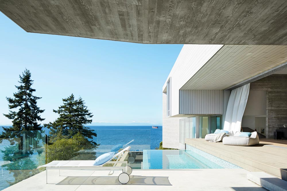 modern coastal home pool design mb - Sunset House