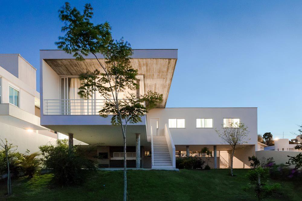 Modern Hillside Home Design