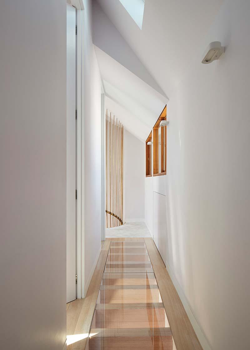 modern cottage design glass floor - Victorian Cottage Renovation