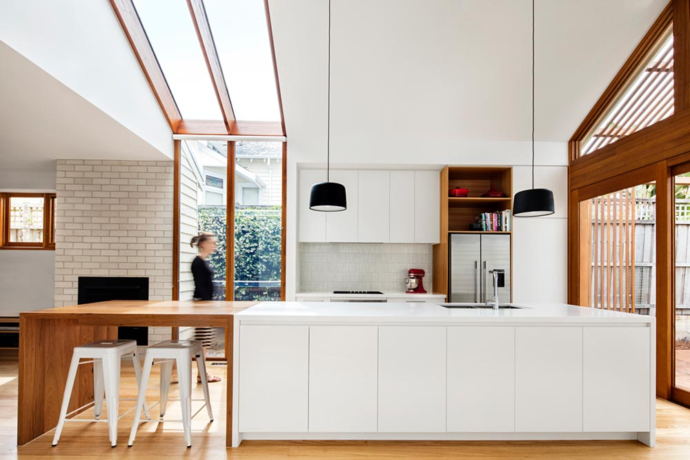 modern cottage kitchen design - Gable House