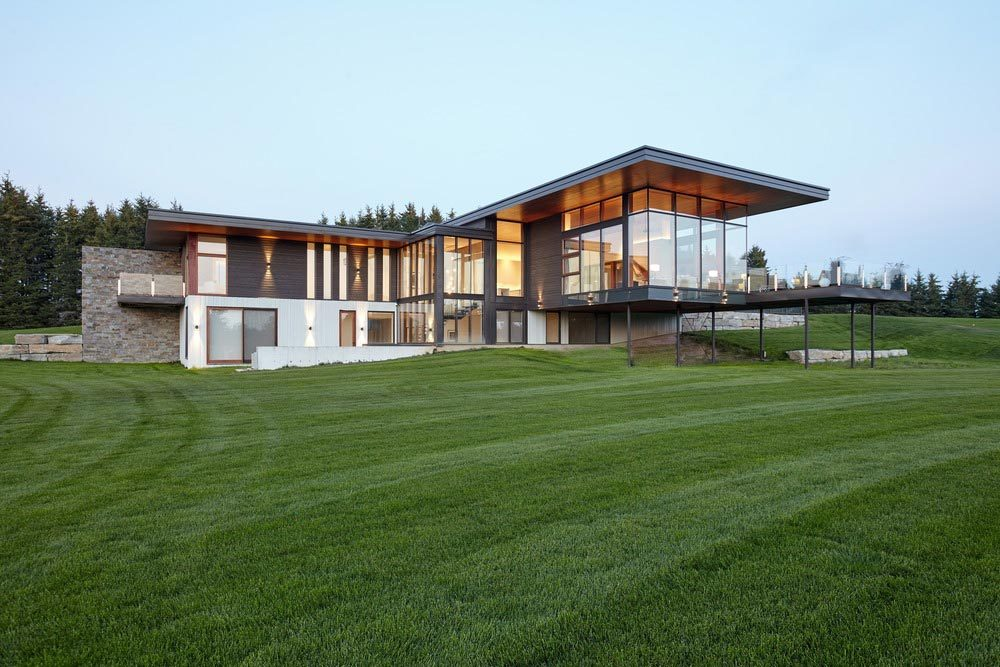 modern country home design tma 1000x667 - Stouffville Residence