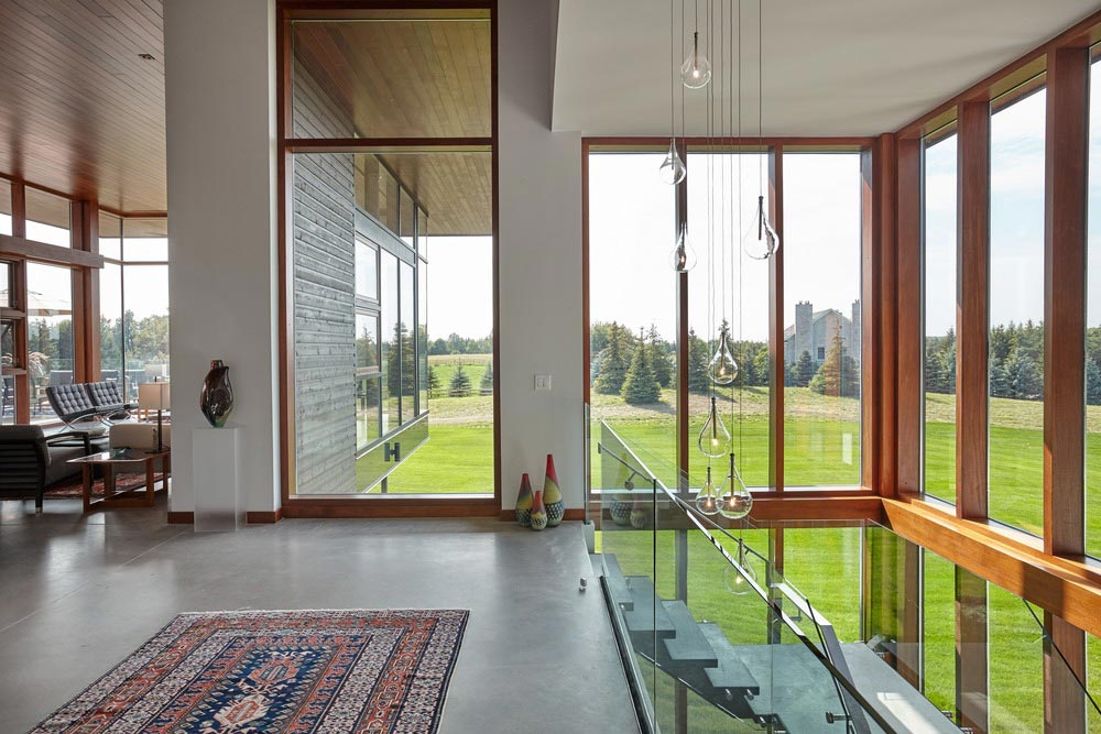 modern country home interior design - Stouffville Residence