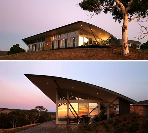 Della torre house under cover modern architecture for Modern country homes