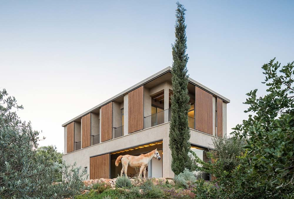modern country house galilee 1000x677 - Residence in the Galilee
