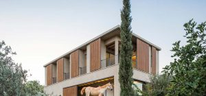 modern country house galilee 300x140 - Residence in the Galilee