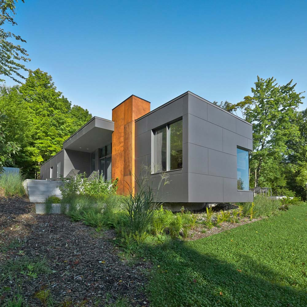 T house modern architecture for Architecture quebec