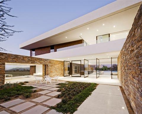 Desert Panorama House Modern Shelter Modern Architecture