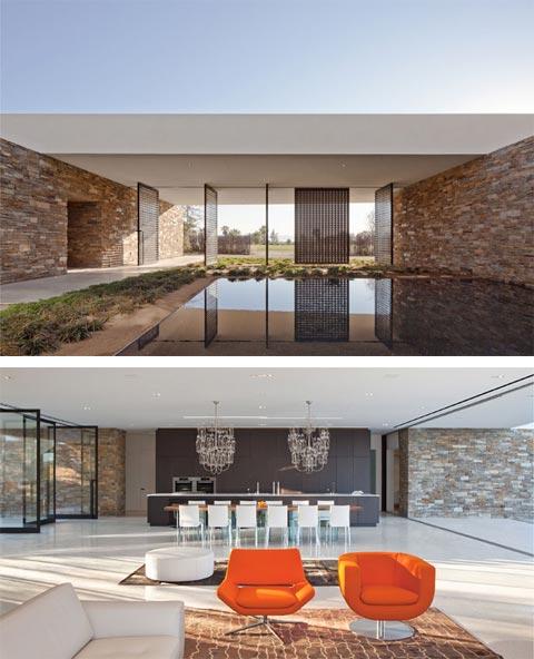 Modern Home Design October 2012: Desert Panorama House: Modern Shelter