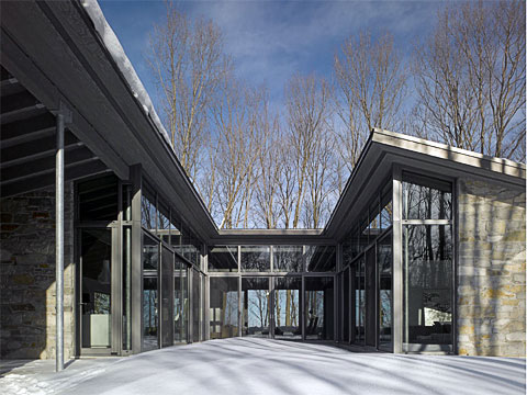 Awesome Modern Family Home Bromont Gallery