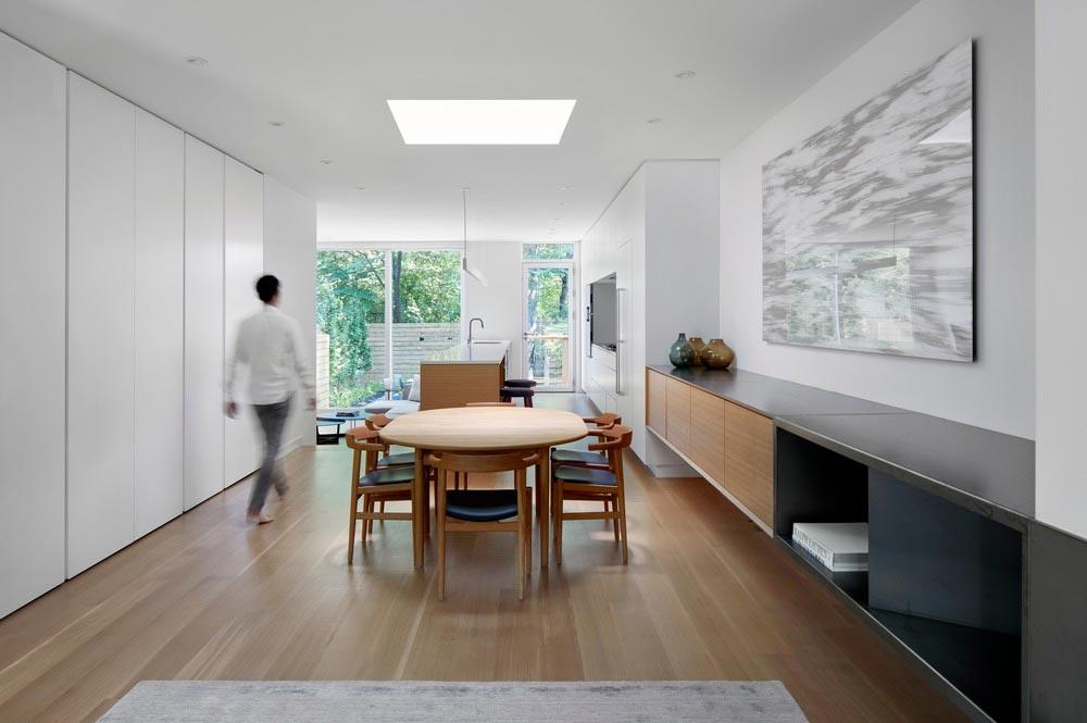 modern family home dining akb - Summerhill House