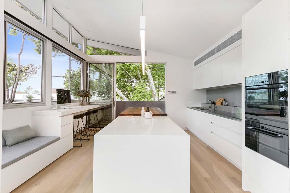 modern family home kitchen 1 - Port Melbourne Residence