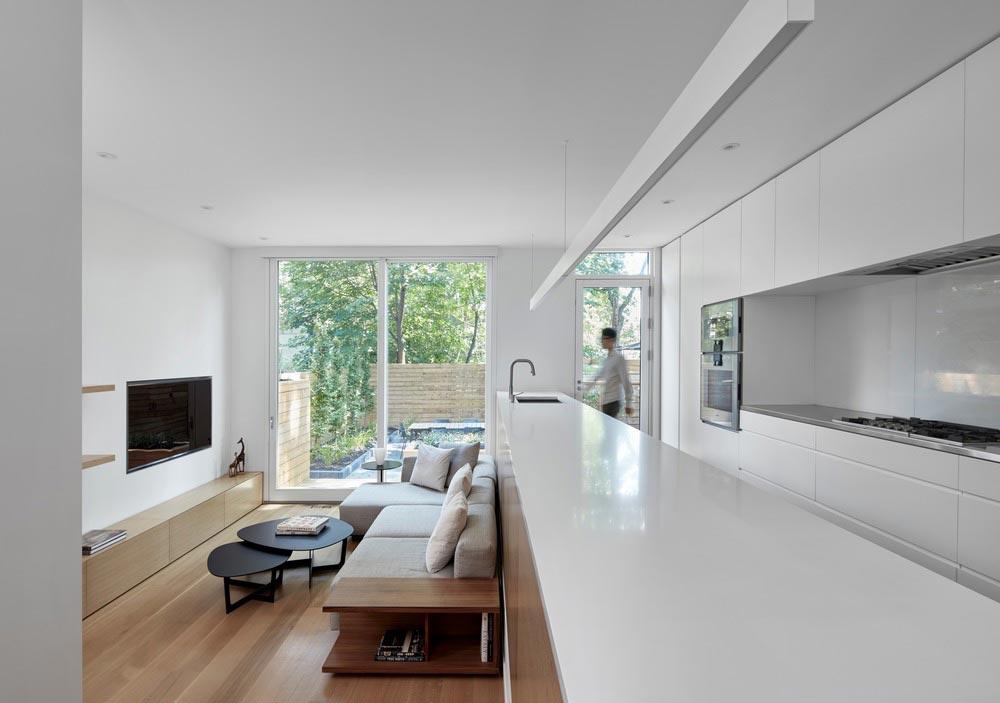 modern family home kitchen akb - Summerhill House