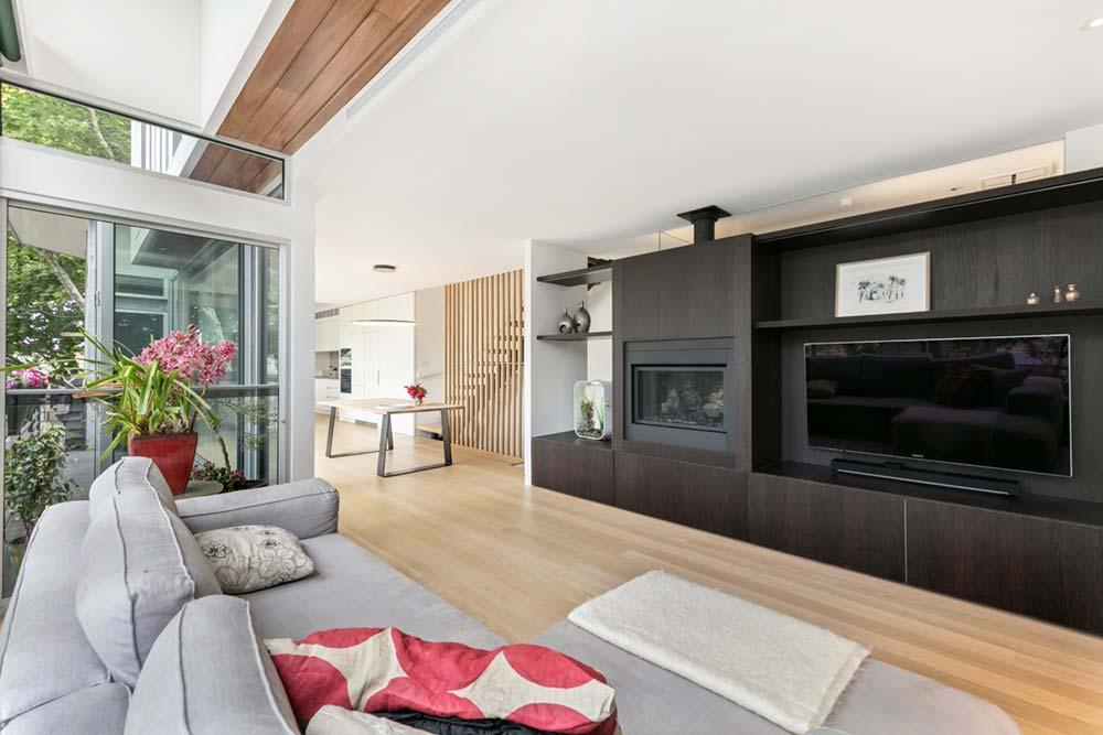 modern family home open space 1 - Port Melbourne Residence
