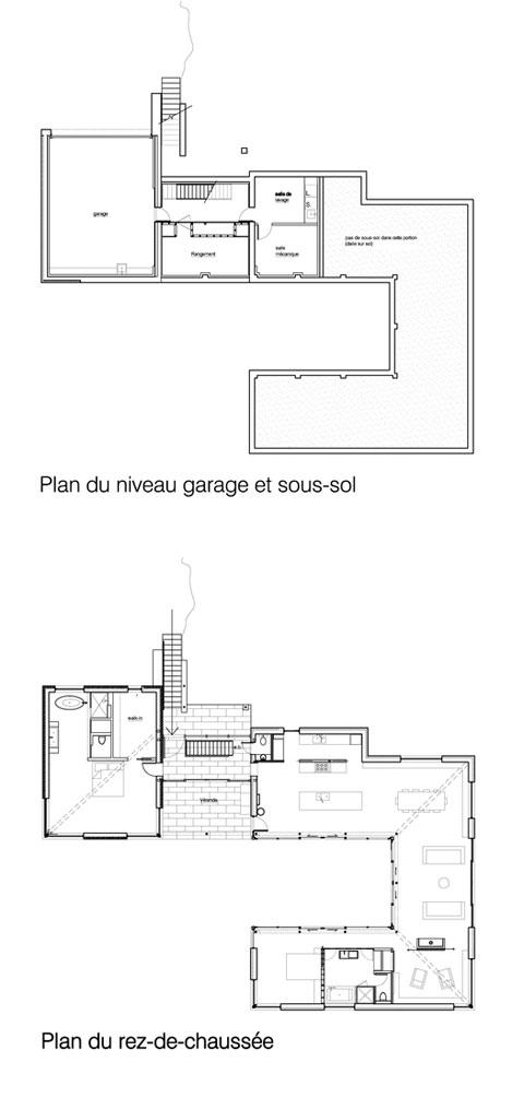 Modern Family Home Plan Bromont. * More Info At Paul Bernier Architecte