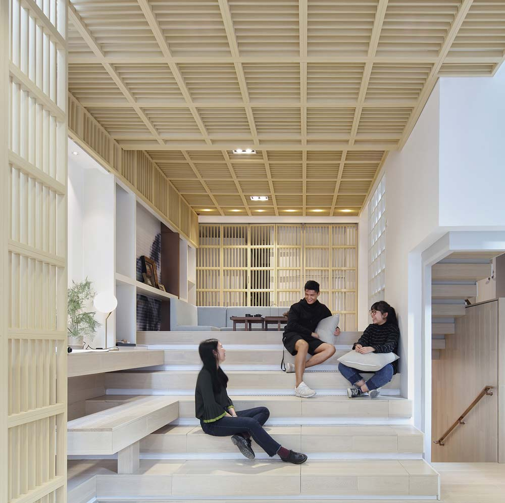 modern family home stairs design 2 - A Home Without Boundaries