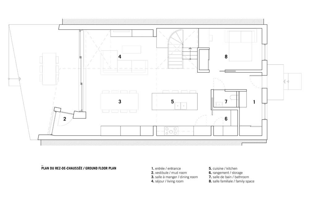 modern family house design plan nh - De la Roche Residence