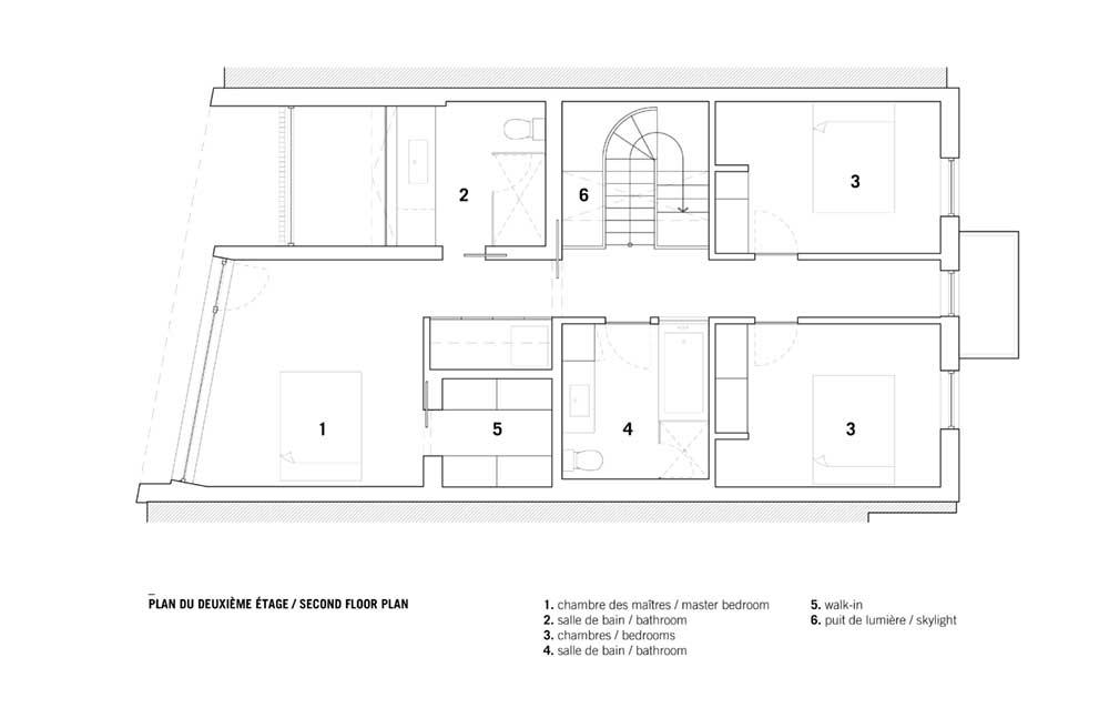 modern family house design plan nh2 - De la Roche Residence