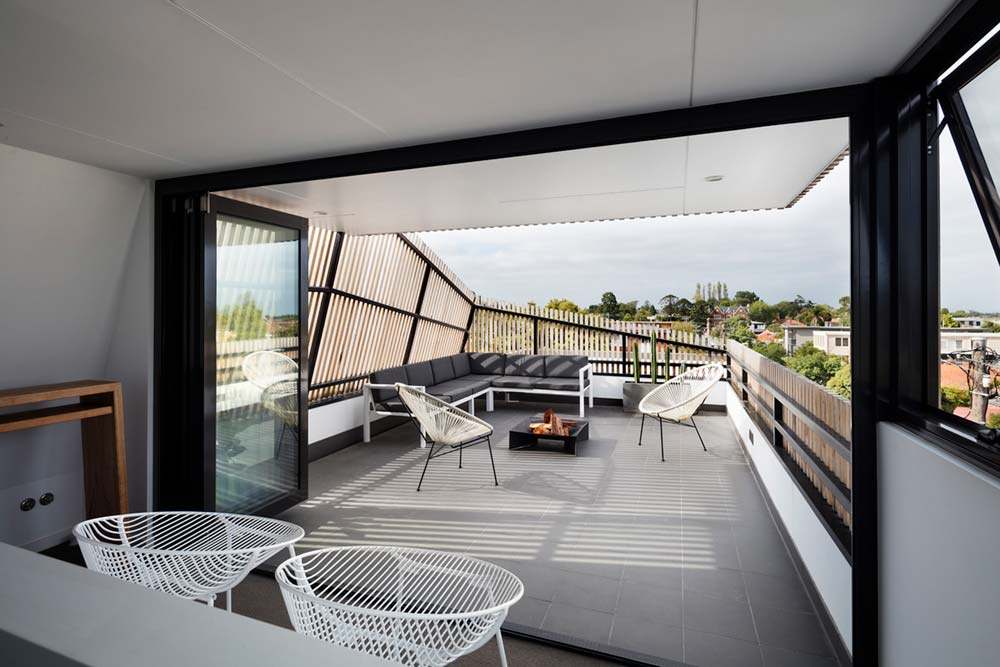 modern family house terrace design ja - St Kilda East Townhouses