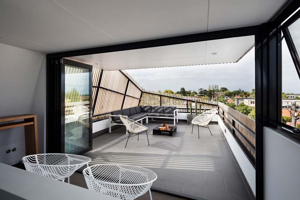 modern family house terrace design ja - St Kilda East Townhouses
