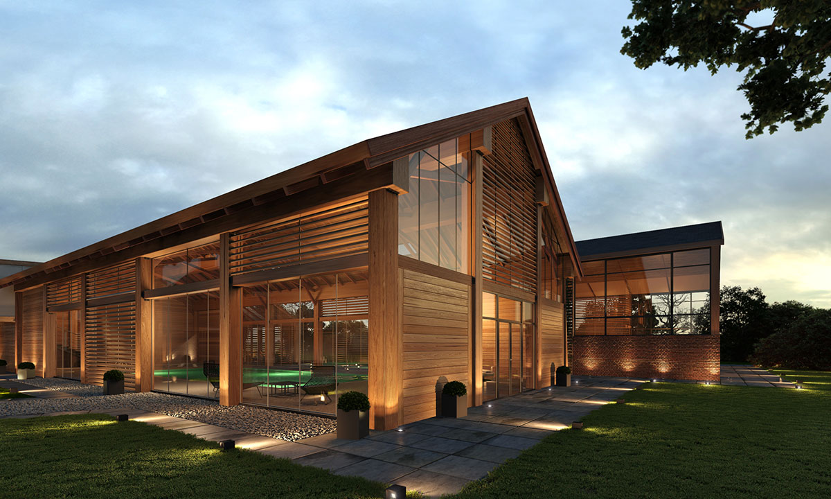 Contemporary farm house barn houses - The contemporary barn ...