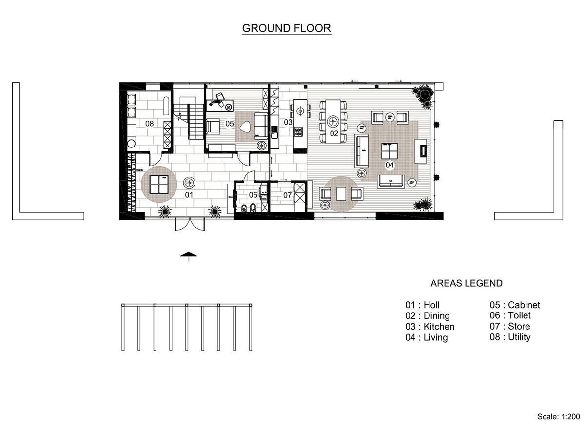 Contemporary farm home plans for Contemporary floor plans for new homes