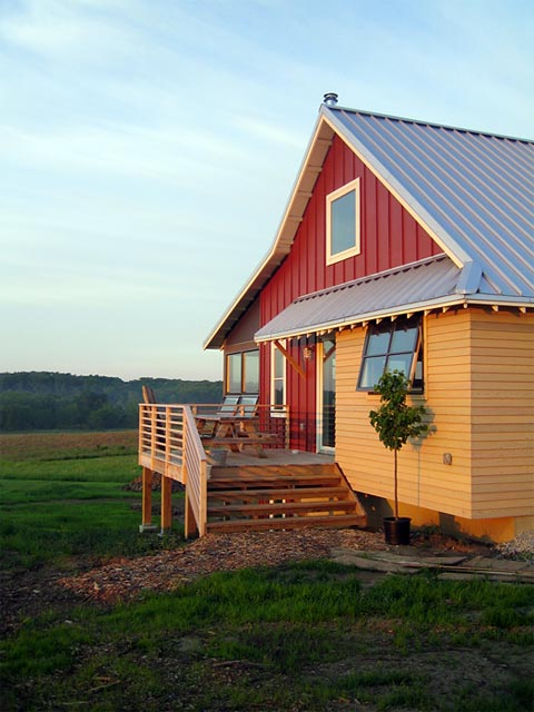 Yum Farm Modern Design In A Rural Landscape Barn
