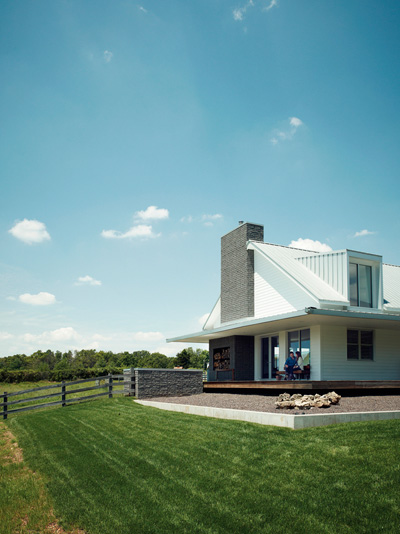 Porch House Perfect Countryside Life Modern Architecture