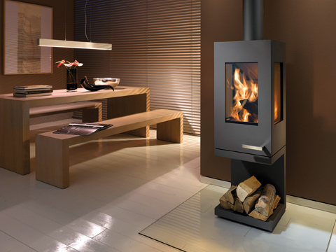 Pico kamin warm feeling cool features fireplace designs small spaces - Kamin modern design ...