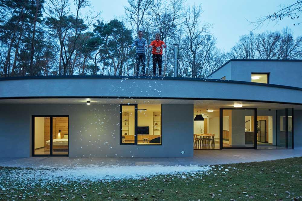 modern forest villa roof - Forest Villa