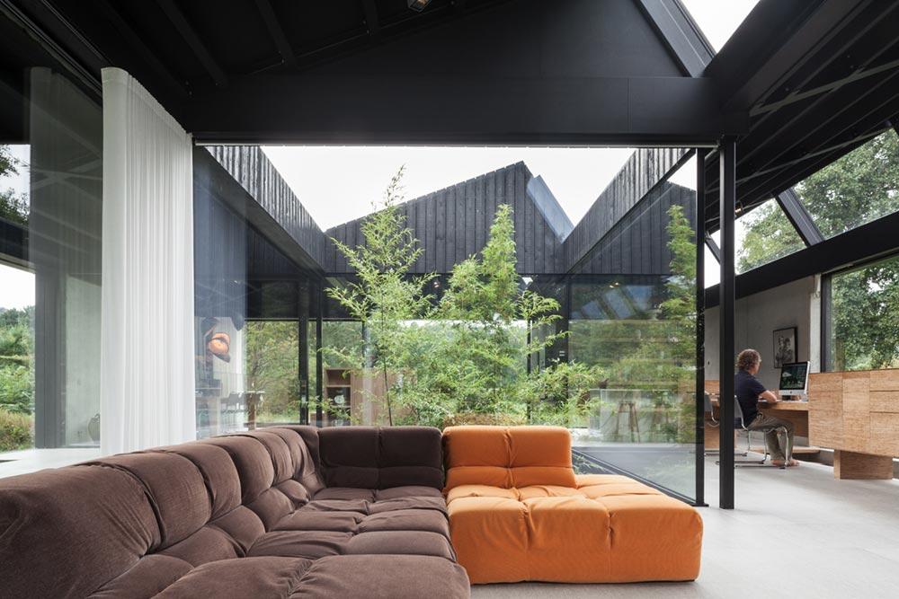 modern glass house pdra2 - Villa Schoorl