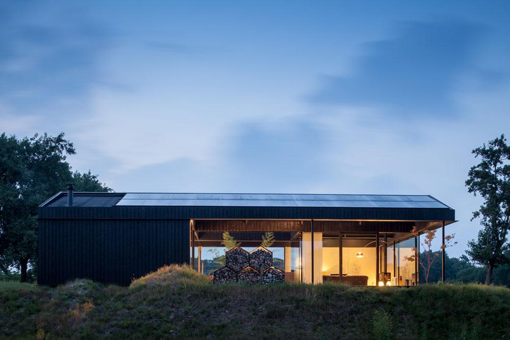 modern glass house pdra3 - Villa Schoorl