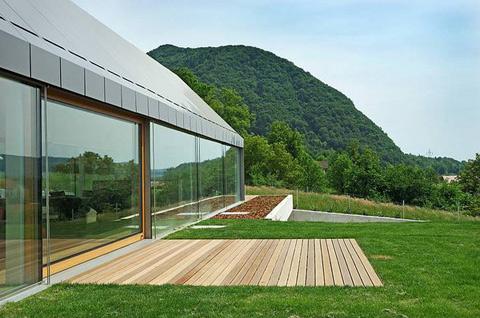 House hb a built border between rural and urban modern for Zeb pilot house floor plan