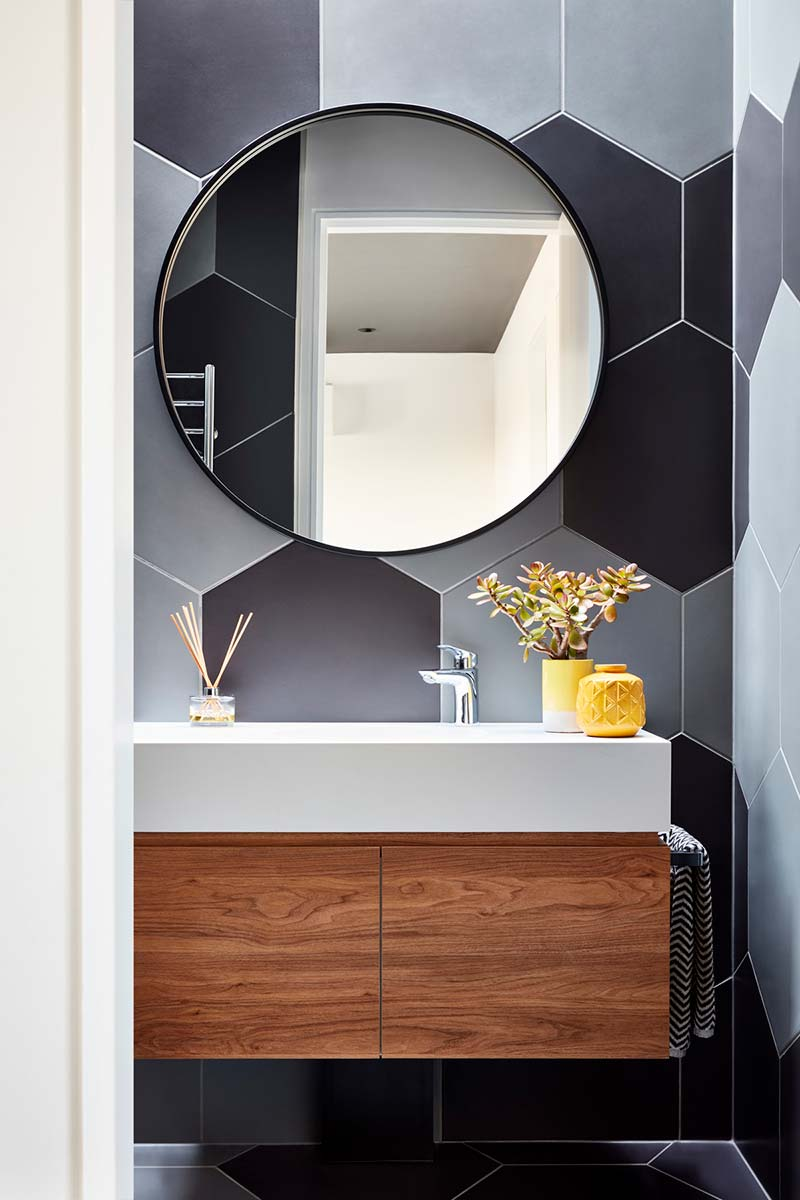 modern home bathroom design ba - Brooks House