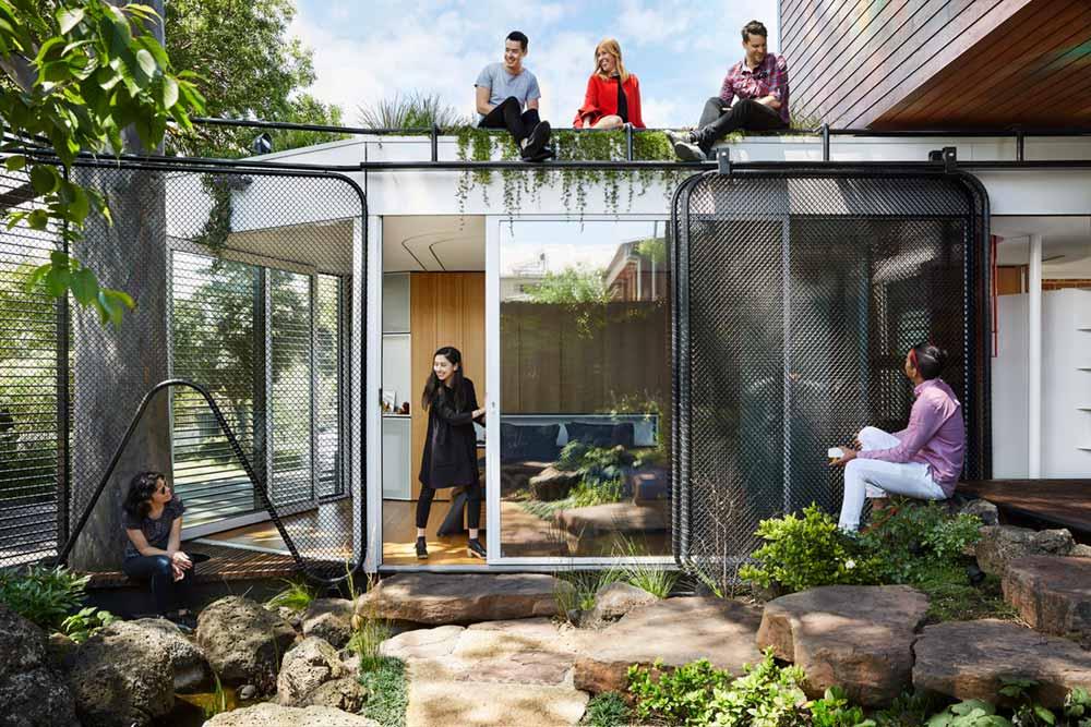 modern home bedroom doors - Kiah House