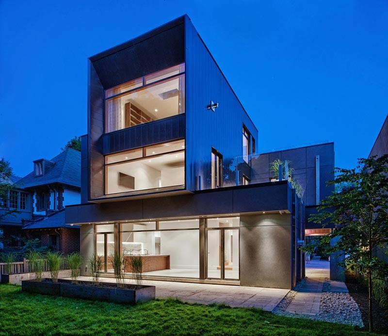 modern home design tact 800x693 - Heathdale Residence