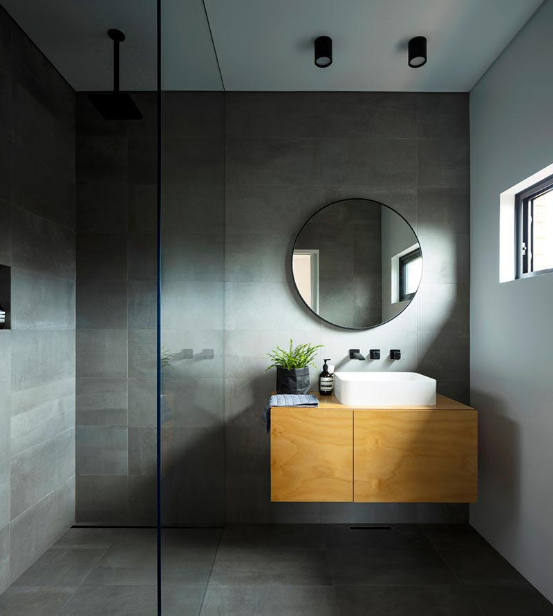 modern home extension design bathroom cp2 - Binary House