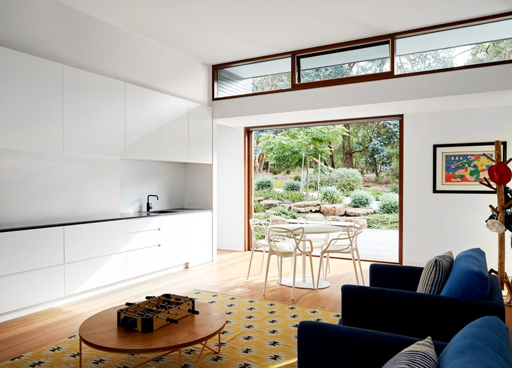 modern home extension interiors - Shoreham House