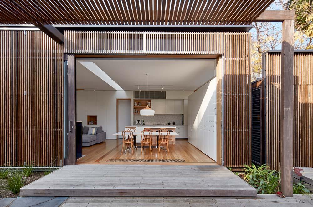 modern home extension screen kitchen - Screen House
