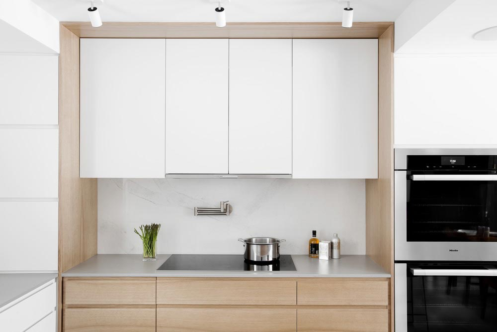modern home kitchen cabinets csd - Lazard Avenue Residence