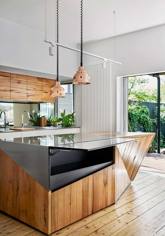 modern home kitchen island - Kiah House