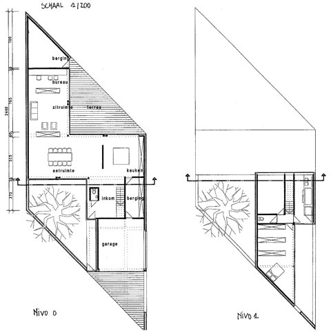 House kempeneers a modern fortress modern architecture for Zeb pilot house floor plan