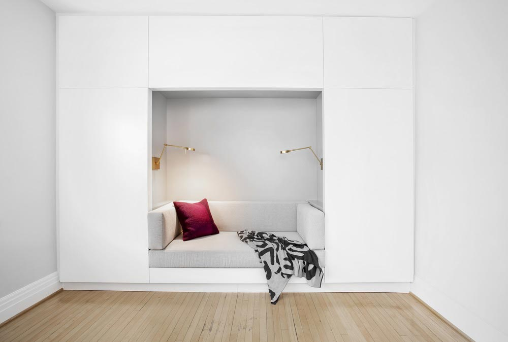 modern home reading nook csd - Lazard Avenue Residence